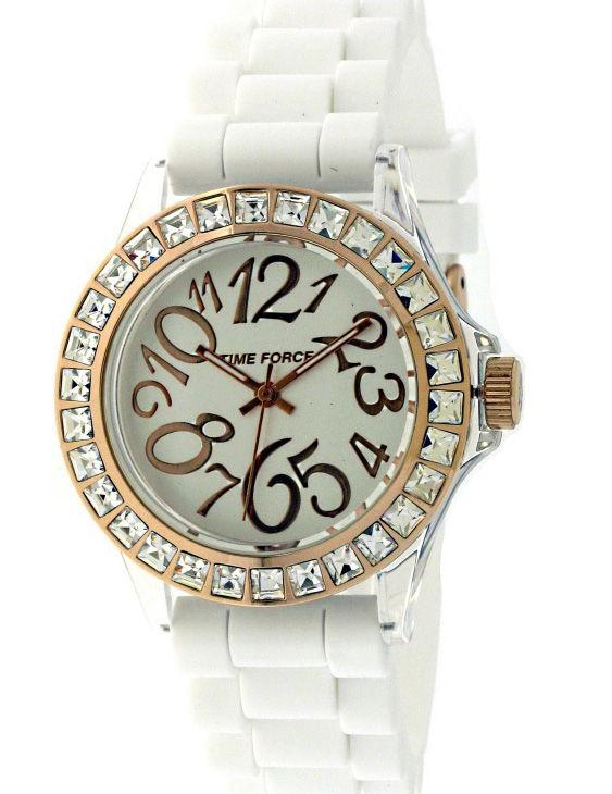 Reloj TIME FORCE TF4006L11 Correa Caucho Mujer