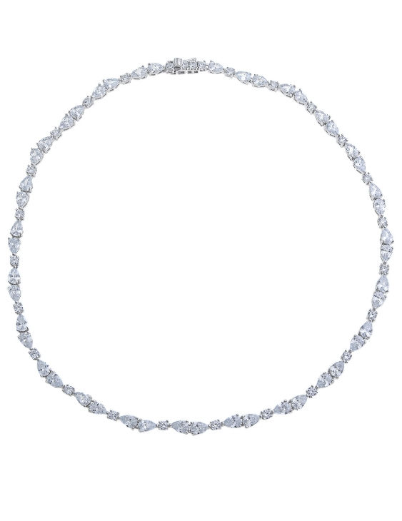 Collar SALVATORE 112C0091 Plata con Circonitas Mujer