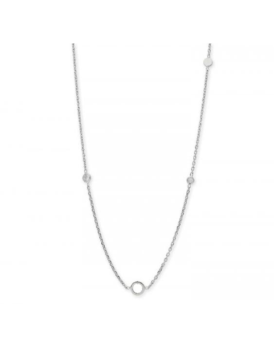 Collar LISKA LAF6065CL Plata con Circonitas Mujer