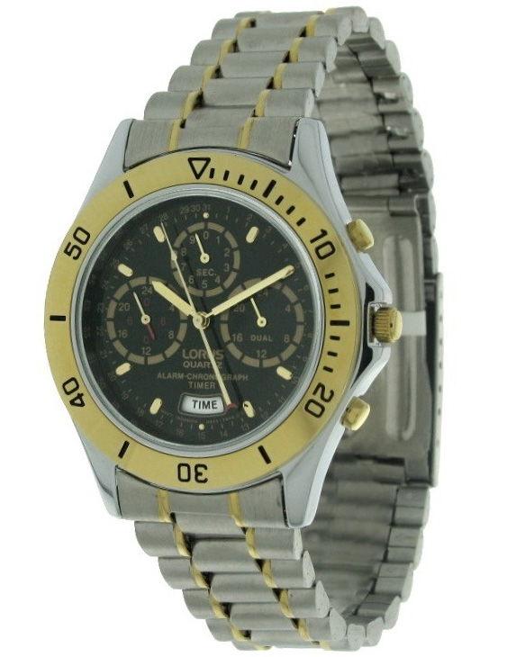 Reloj Lorus RWF088-9 Cronografo Brazalete Acero Hombre