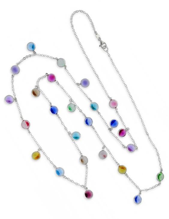 Collar LISKA SWAROVSKI ELEMENTS LSW2085CL-B Plata Mujer