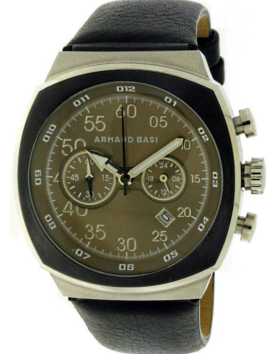 Reloj ARMAND BASI A-0481G-05 Cronografo Correa Piel Hombre
