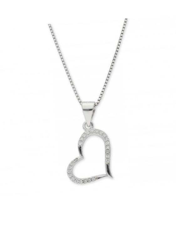 Collar LISKA LAD8061CL Plata con Circonitas Mujer