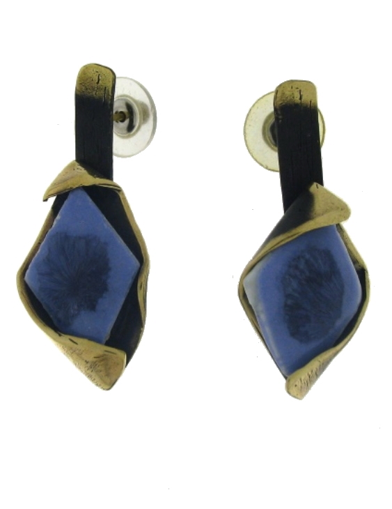 Pendientes FILI PLAZA FP S102-BN Bronce Mujer