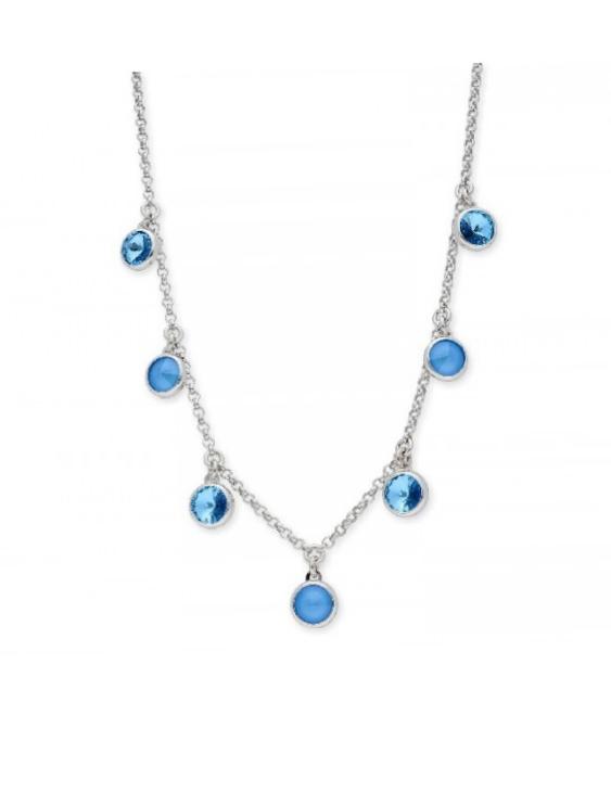 Collar LISKA SWAROVSKI ELEMENTS LSW4174CL-SB Plata Mujer