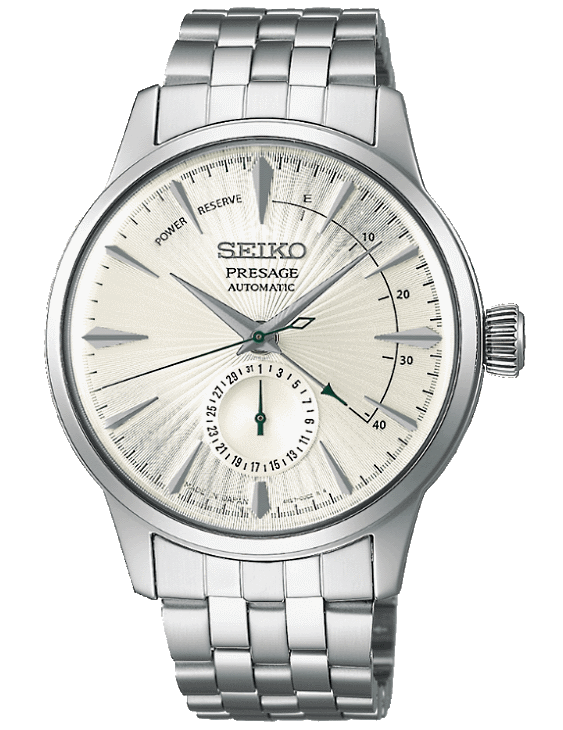 Reloj Seiko SSA257J1 PRESAGE Automatico Acero Hombre
