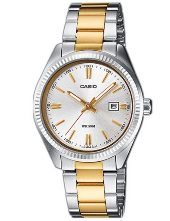 Reloj CASIO LTP-1302PSG-7AVEF Acero Bicolor Mujer