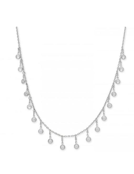 Collar LISKA LAD1069CL-B Plata con Ciorconitas Mujer