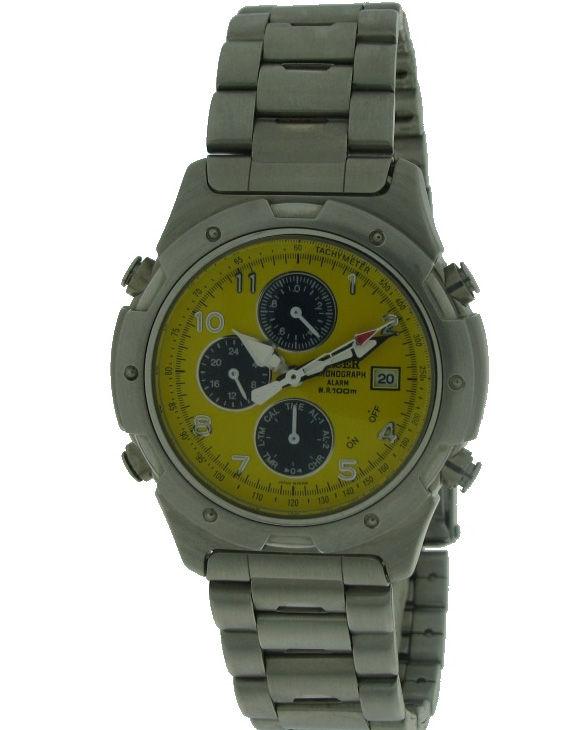 Reloj RACER W70704 Cronografo Brazalete Acero Hombre