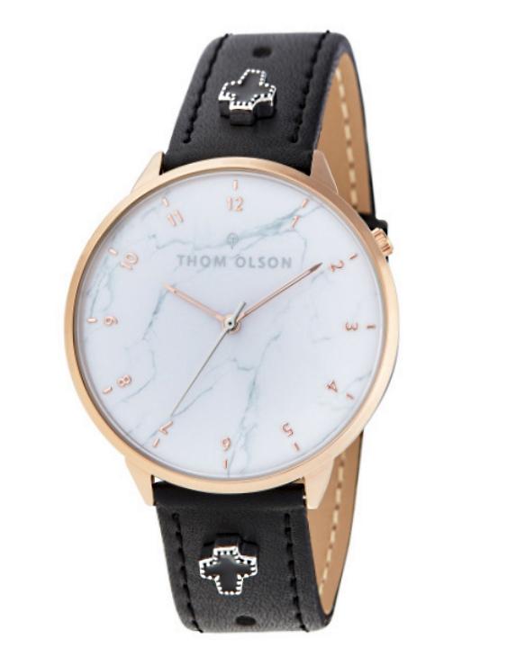 Reloj THOM OLSON CTBO014 Alloy Correa Piel Mujer.