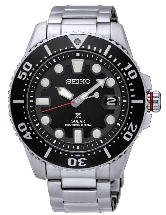 Reloj SEIKO SNE435P1 SOLAR PROSPEX DIVER'S Acero Hombre