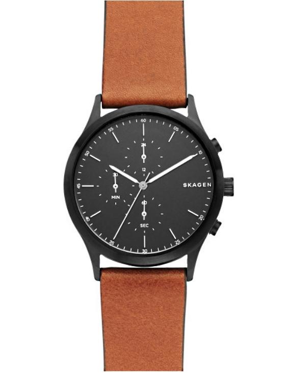 Reloj SKAGEN SKW6477 JORN Cronografo y Correa de Piel Hombre