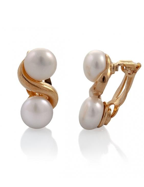 Pendientes VIDAL&VIDAL G1108 Metal Antialérgico con Perlas Cultivadas Mujer