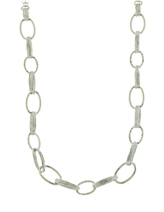 Collar Plata Mujer