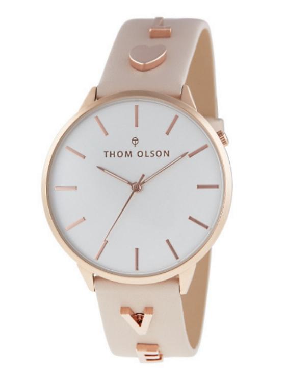 Reloj THOM OLSON CTBO012 Alloy Correa Piel Mujer.