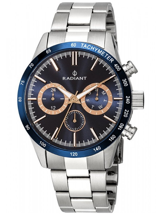 Reloj RADIANT RA411204 EMPIRE Multifuncion Acero Hombre