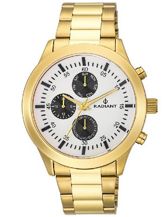 Reloj RADIANT RA478701 PAELA Multifuncion Acero Hombre