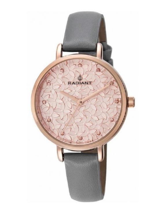 Reloj RADIANT RA431603 ROMANCE Acero con Correa de Piel Mujer