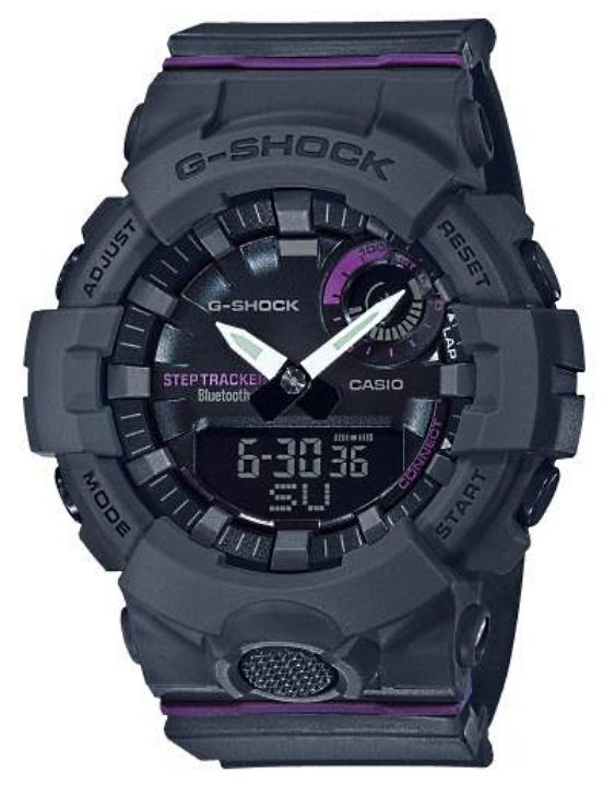 Reloj CASIO GMA-B800-8AER G-SHOCK Smartphone time Unisex.