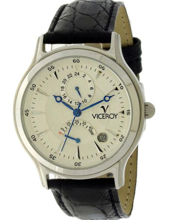 Reloj VICEROY 49025-88 Automatico Brazalete Piel Hombre