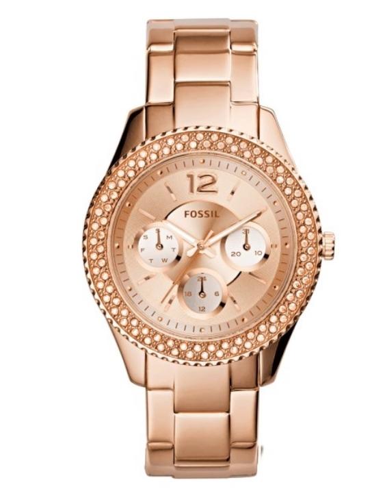 Reloj FOSSIL ES3590 STELLA Acero con Swarovski Mujer