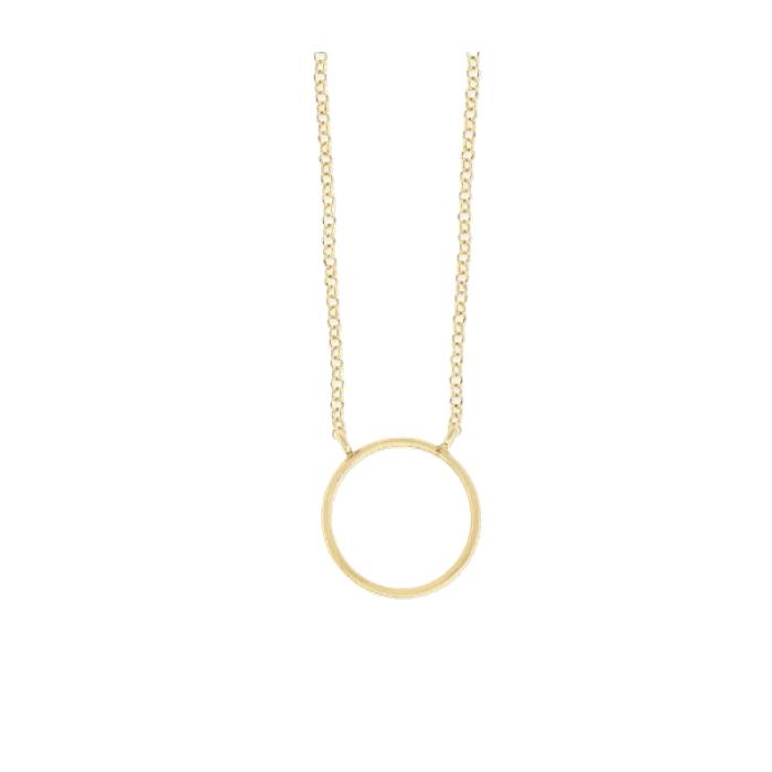 Collar LISKA LAD7109CL-D Plata con Baño de Oro Mujer