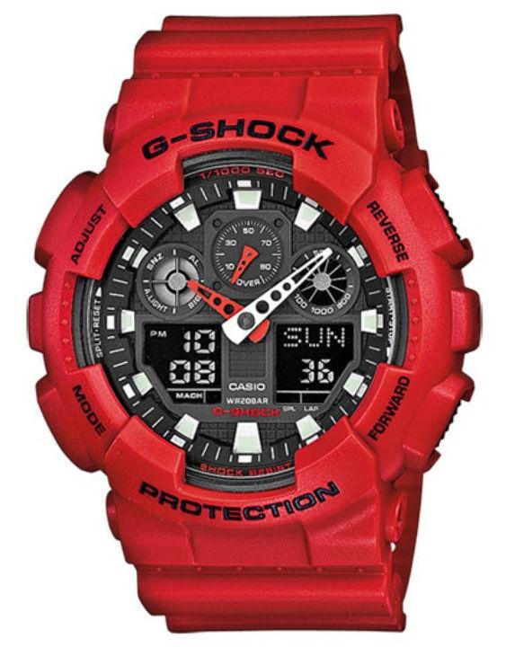 Reloj CASIO GA-110GA-100B-4AER-1AER G-SHOCK Digital Hombre