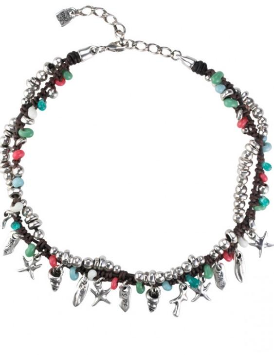 Collar UNO DE 50 COL1256MCLMAROU Metal con Baño de Plata 15 Micras Mujer