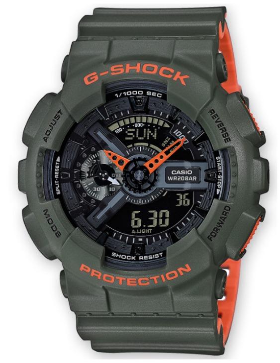 Reloj CASIO GA-110LN-3AER G-SHOCK Digital Hombre