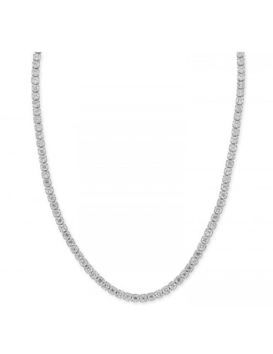 Collar LISKA LAD1074CL Plata con Ciorconitas Mujer
