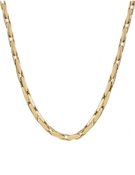 Collar VIDAL&VIDAL X9611242 Metal Antialérgico con Baño de Oro Mujer