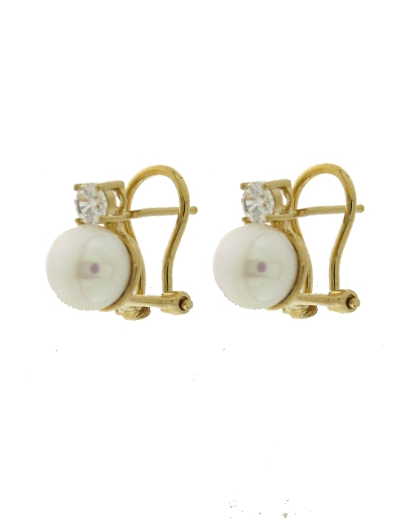 Pendientes VIDAL&VIDAL G1942 Metal Antialérgico con Perlas Cultivadas Mujer