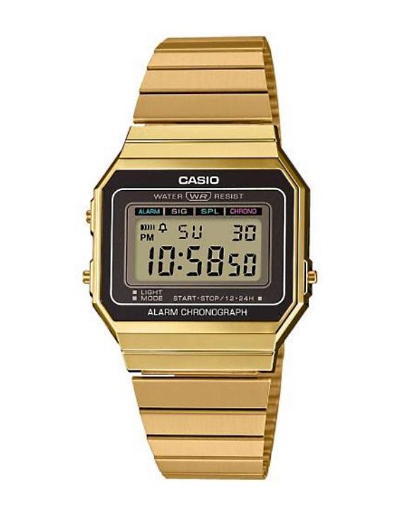 Reloj CASIO A700WEG-9AEF Digital Unisex