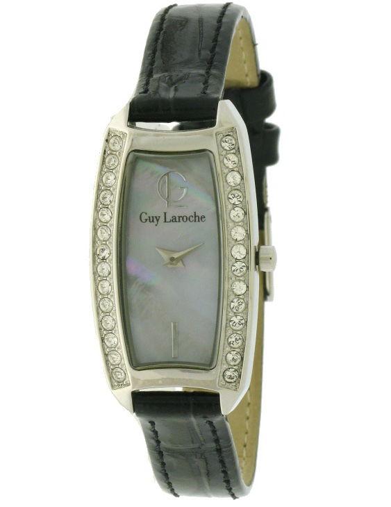 Reloj GUY LAROCHE LW518ZWZ Correa Piel Mujer con Swarovski