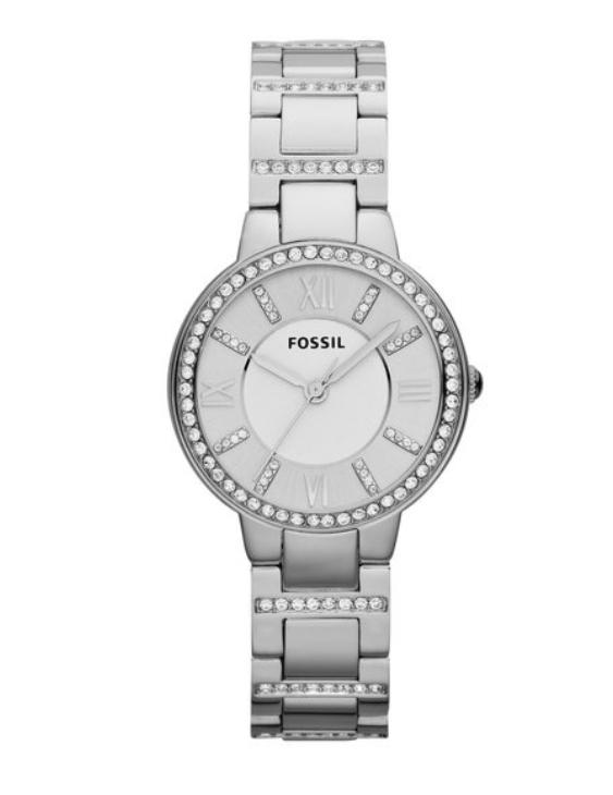 Reloj FOSSIL ES3282 VIRGINIA Brazalete Acero con Circonitas Mujer