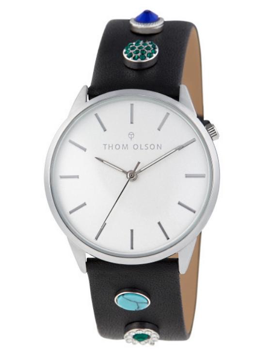 Reloj THOM OLSON CTBO018 Alloy Correa Piel Mujer.