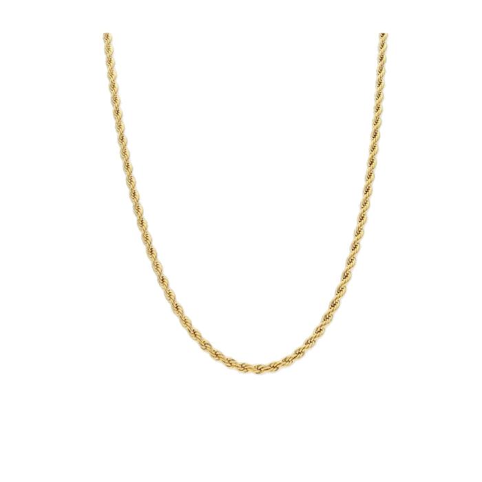 Cadena LISKA CH010CL-C Acero con Baño de Oro Mujer