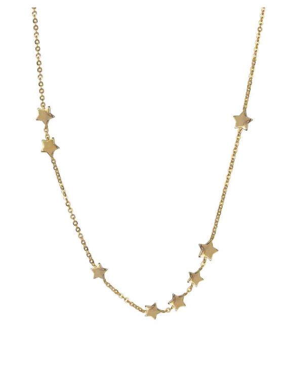 Collar VIDAL&VIDAL X4461338 Metal Antialérgico con Baño de Oro Mujer