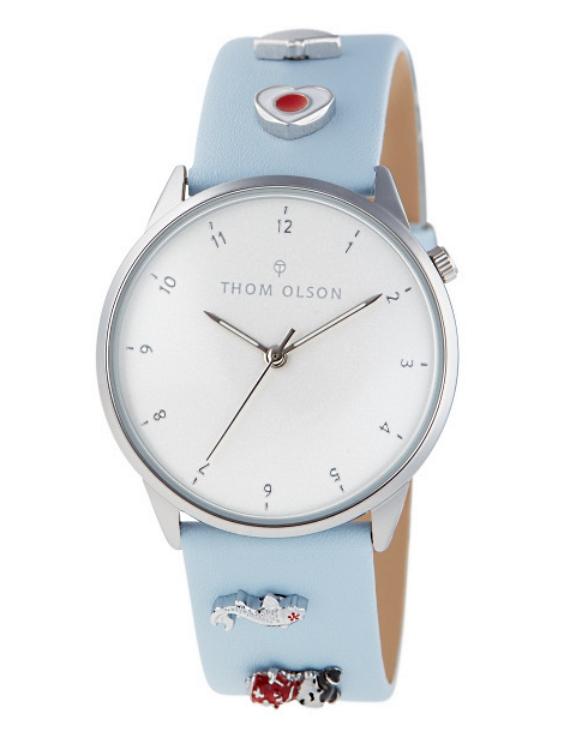 Reloj THOM OLSON CTBO022 Alloy Correa Piel Mujer.