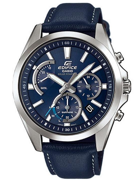 Reloj CASIO EFS-S530L-2AVUEF EDIFICE SOLAR Cronógrafo Piel Hombre