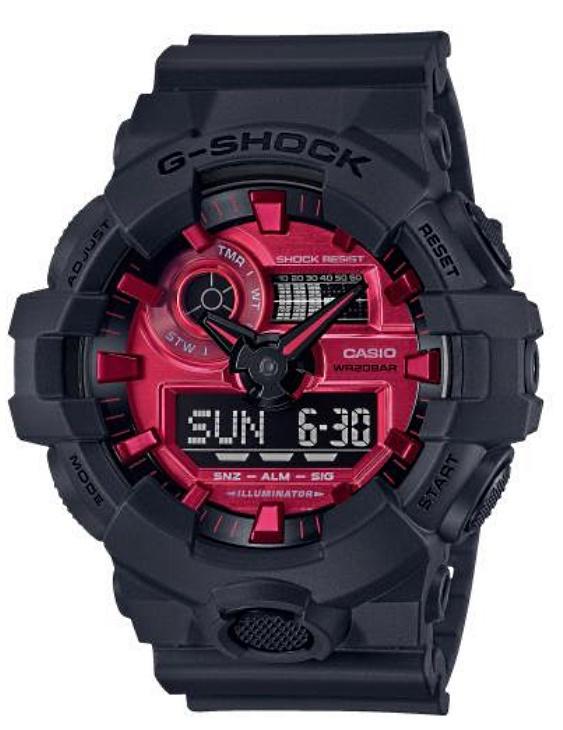 Reloj CASIO GA-700AR-1AER G-SHOCK Digital Hombre
