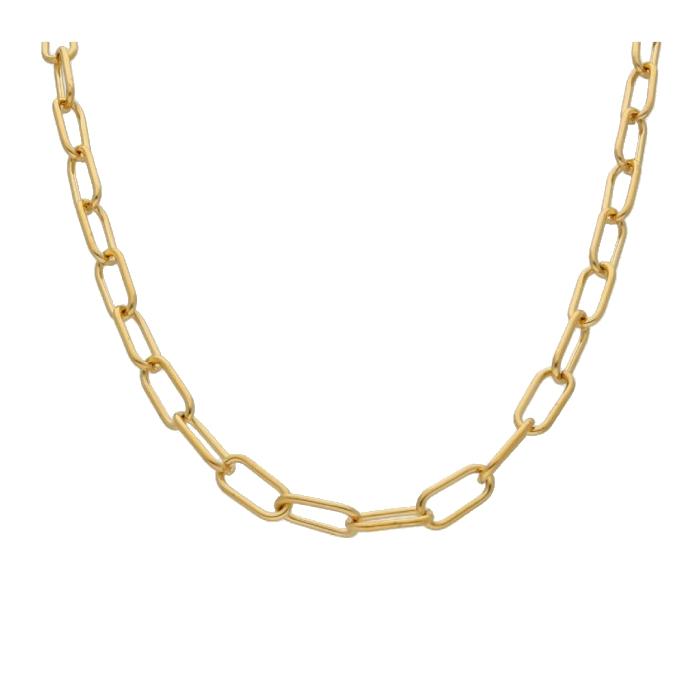 Cadena LISKA CH008CL-C Acero con Baño de Oro Mujer