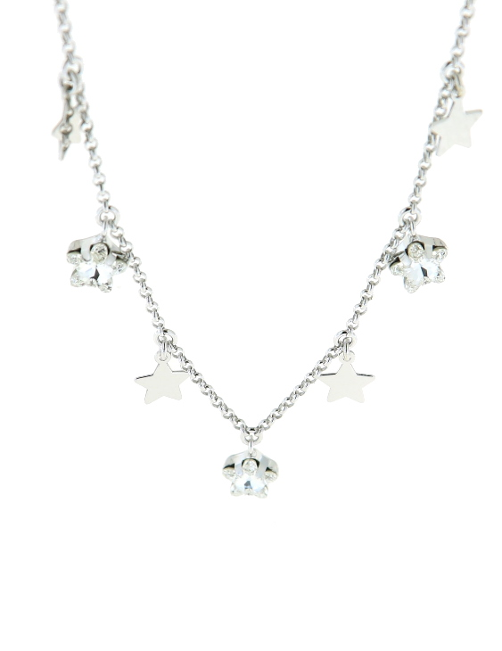 Collar LISKA SWAROVSKI ELEMENTS LSW4206CL Plata Mujer