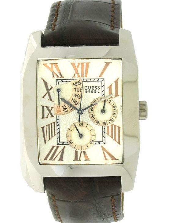 Reloj GUESS 12535G3 Multifunción Correa Piel Hombre