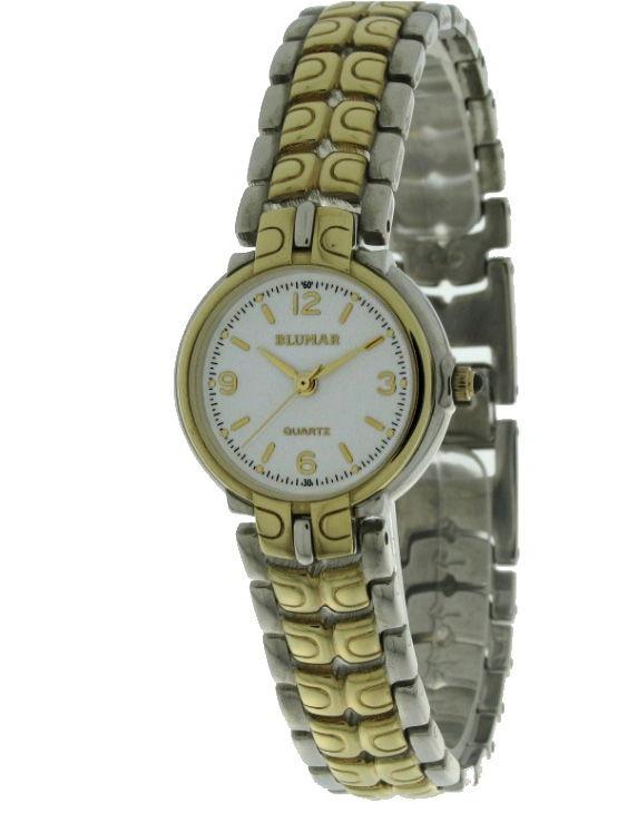 Reloj BLUMAR 1840008-2 Brazalete Acero Chapado Oro Mujer