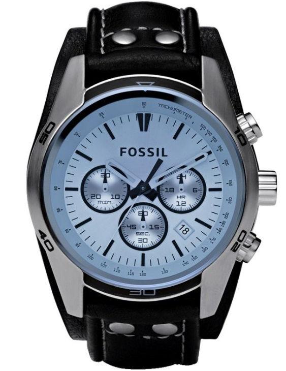 Reloj FOSSIL CH2564 COACHMAN Cronografo con Correa de Piel Hombre