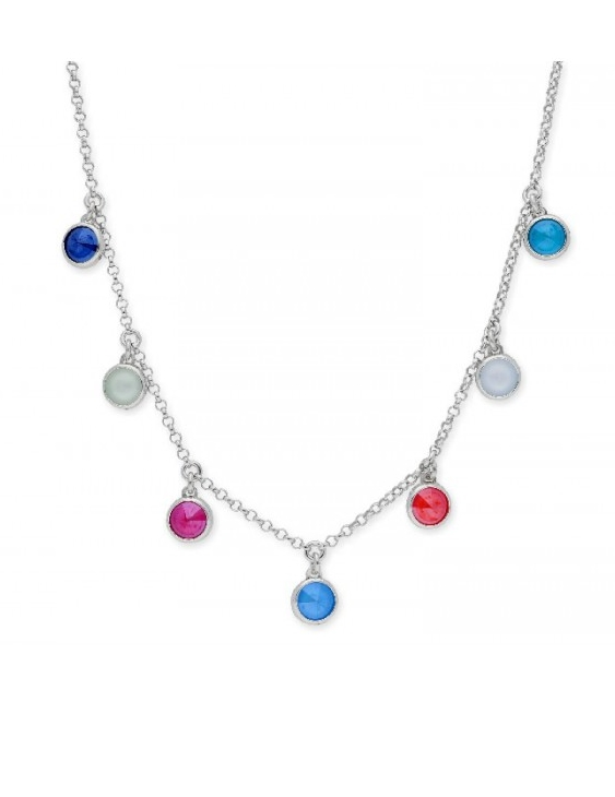 Collar LISKA SWAROVSKI ELEMENTS LSW4174CL-M Plata Mujer