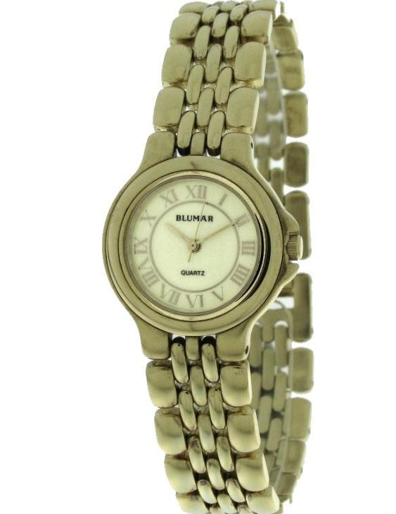 Reloj BLUMAR 7940012-3 Brazalete Acero Chapado Oro Mujer