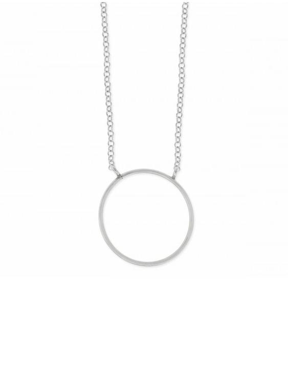 Collar LISKA LAD7110CL Plata Mujer