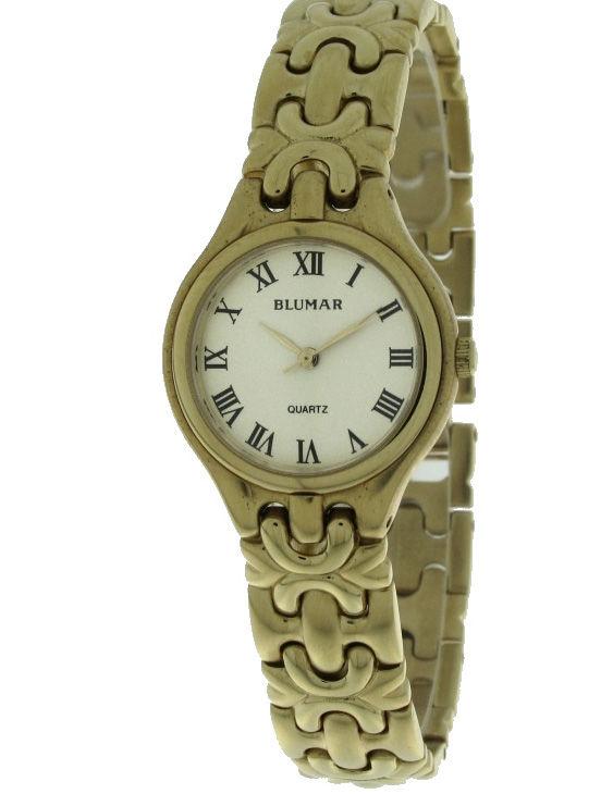 Reloj BLUMAR 64-7940010 Brazalete Acero Chapado Oro Mujer
